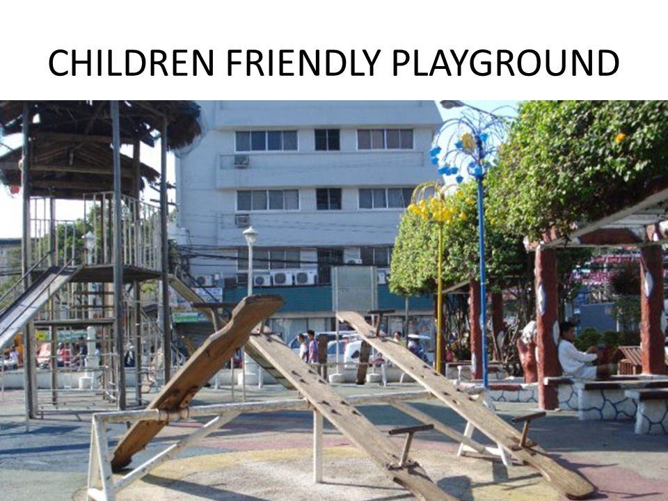 CHILDREN FRIENDLY PLAYGROUND