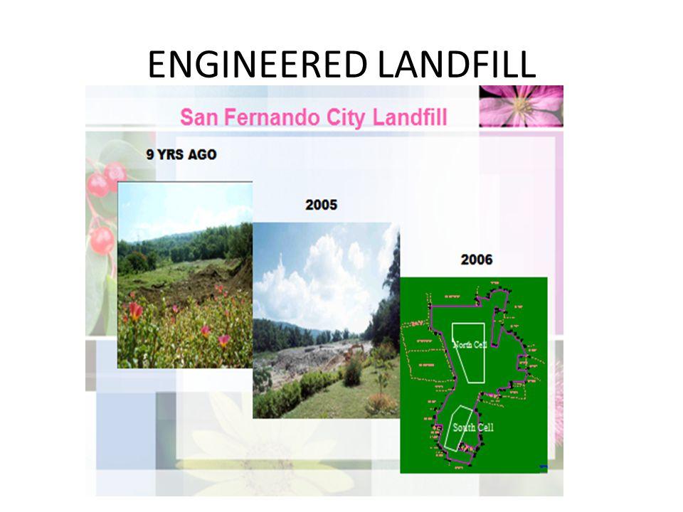 ENGINEERED LANDFILL