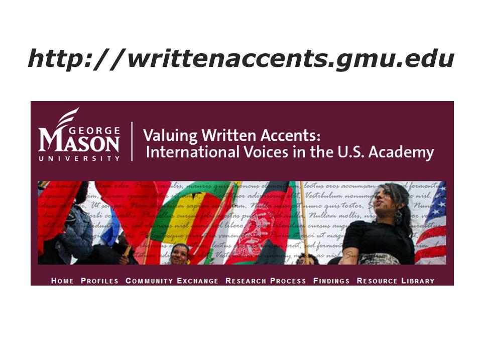 http://writtenaccents.gmu.edu