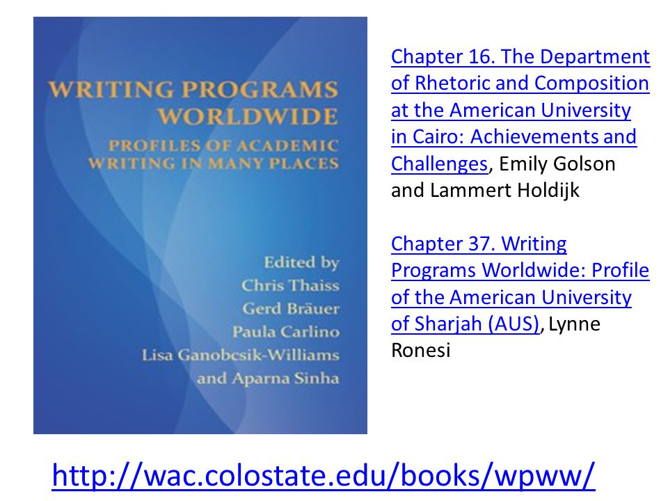http://wac.colostate.edu/books/wpww/ Chapter 16.