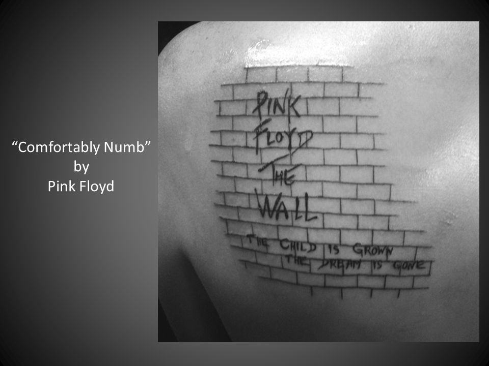 Comfortably Numb by Pink Floyd