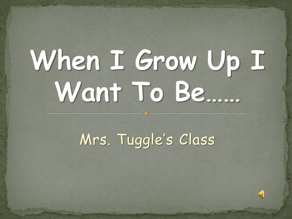 Mrs. Tuggle's Class