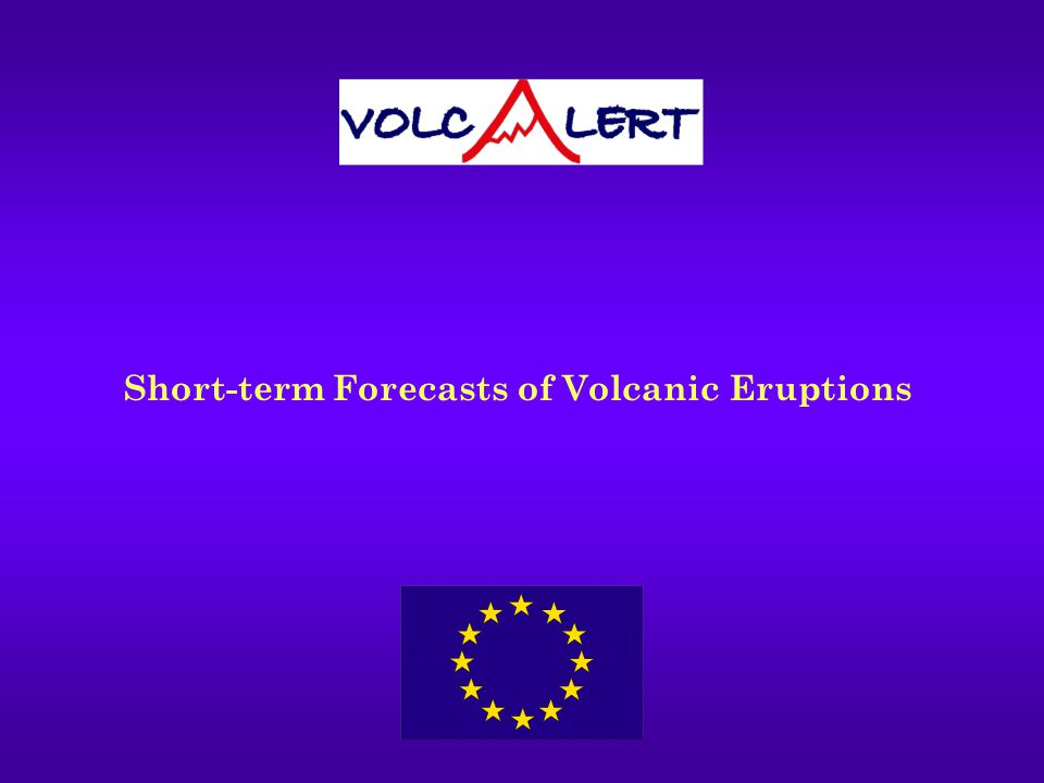 Is it possible to forecast exactly when a volcano will erupt.