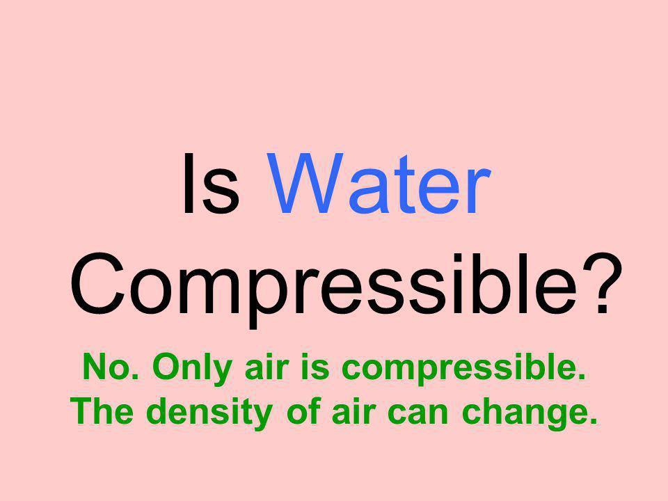 Using density, explain why the diver floats.Water's density = 1 g/cm 3.