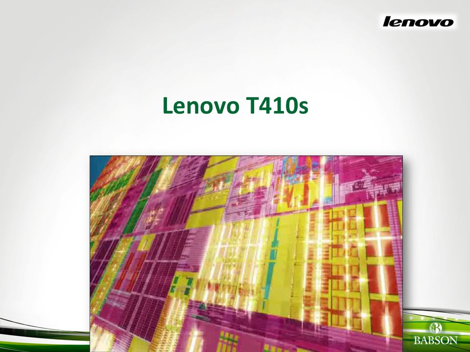 © 2010 Babson College Why Lenovo.