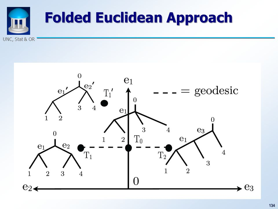134 UNC, Stat & OR Folded Euclidean Approach