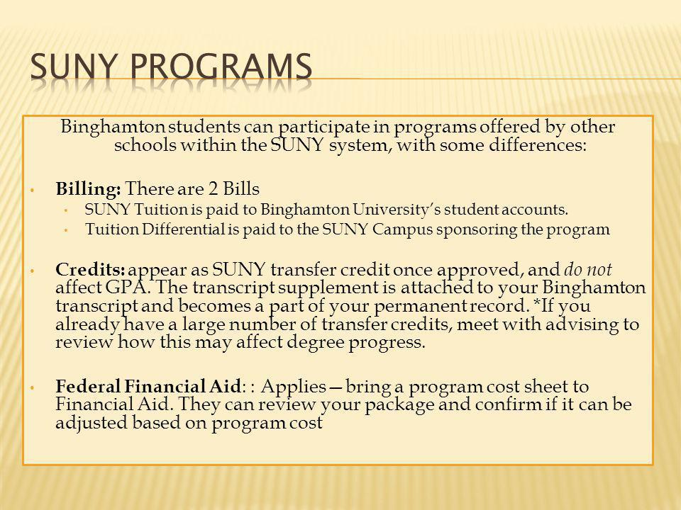 Billing: All payments go directly to the program provider.