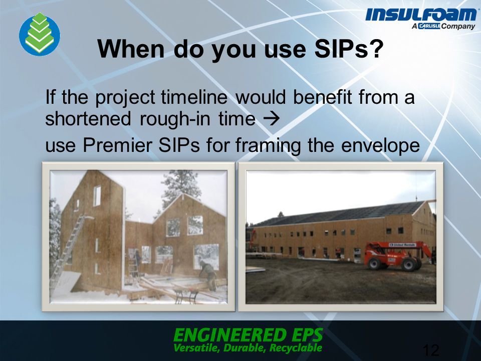 When do you use SIPs.
