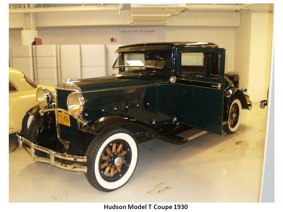 Hudson Model T Coupe 1930