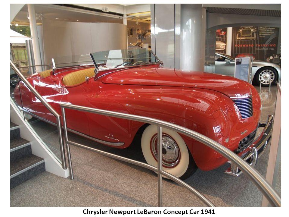 Chrysler Newport LeBaron Concept Car 1941