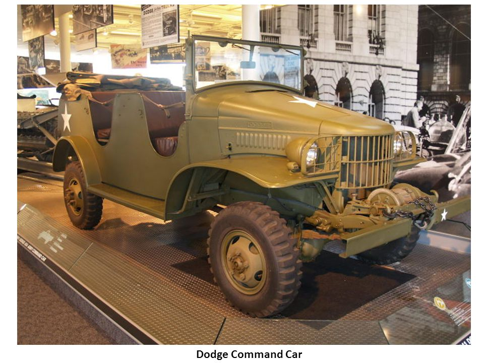 Dodge Command Car