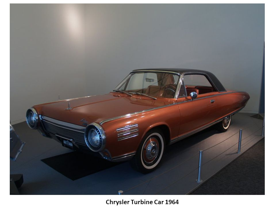 Chrysler Turbine Car 1964