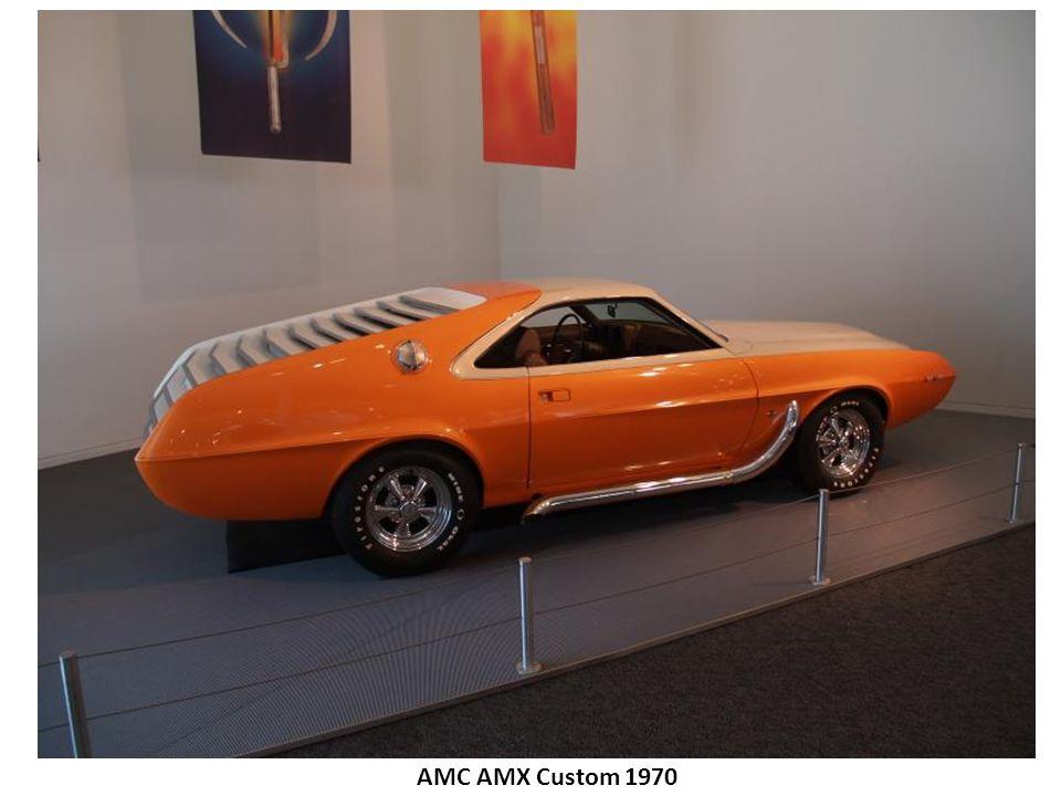 AMC AMX Custom 1970