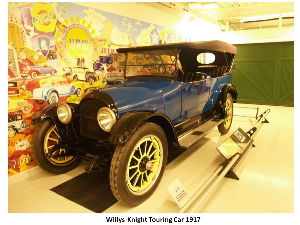 Willys-Knight Touring Car 1917