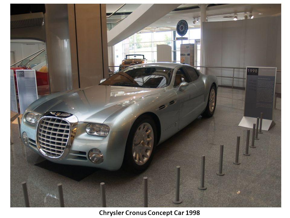 Chrysler Cronus Concept Car 1998