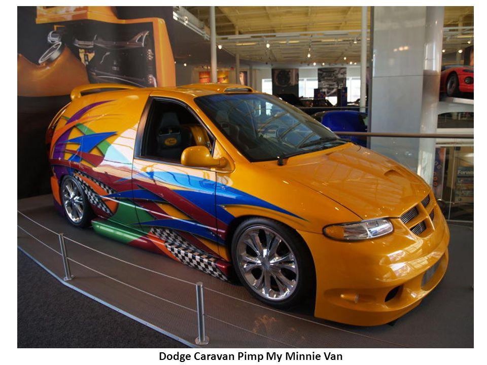 Dodge Caravan Pimp My Minnie Van