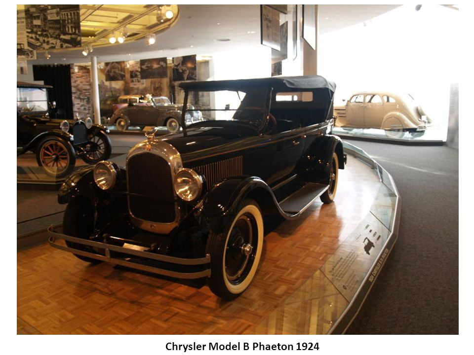 Chrysler Model B Phaeton 1924
