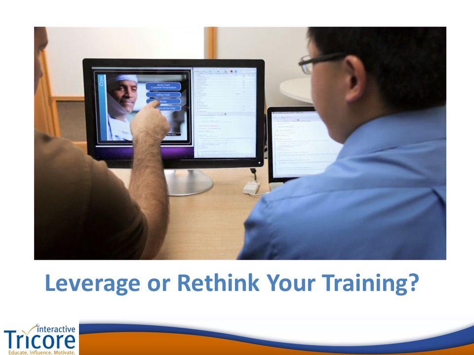 Leverage or Rethink Your Training?
