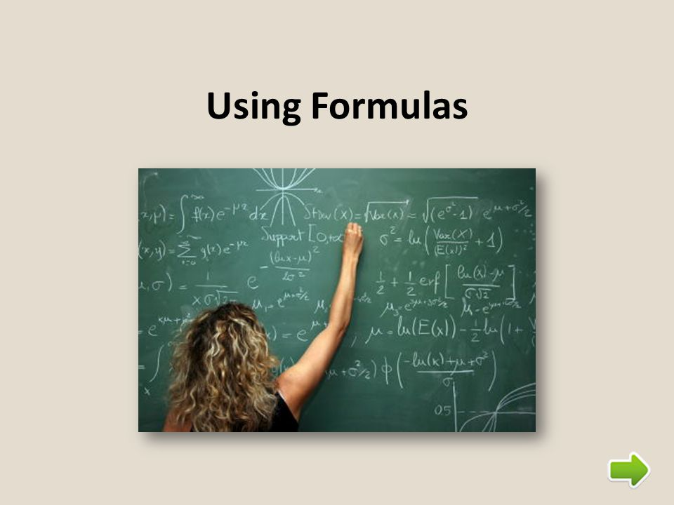 Steps for Solving Formula Problems 1.Choose the correct formula (if it not given to you in the problem) 2.Identify what to substitute for each variable 3.Substitute 4.Solve the resulting equation