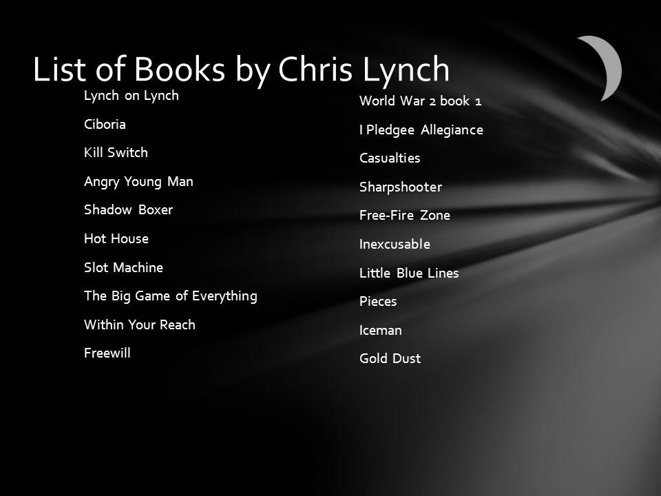 Chris Lynch's children names are Walker & Sophia. Answer #1