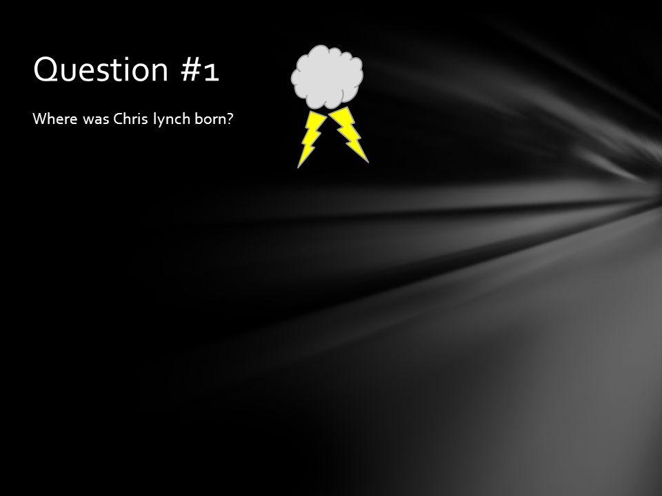 Boston Answer #1