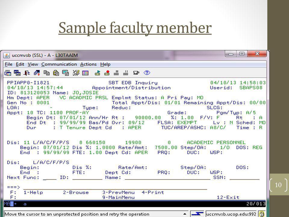 Sample faculty member 10