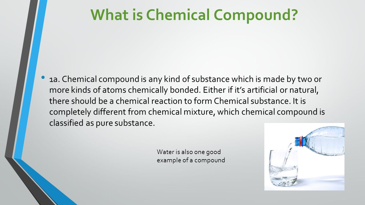 What is Chemical Compound. 1a.