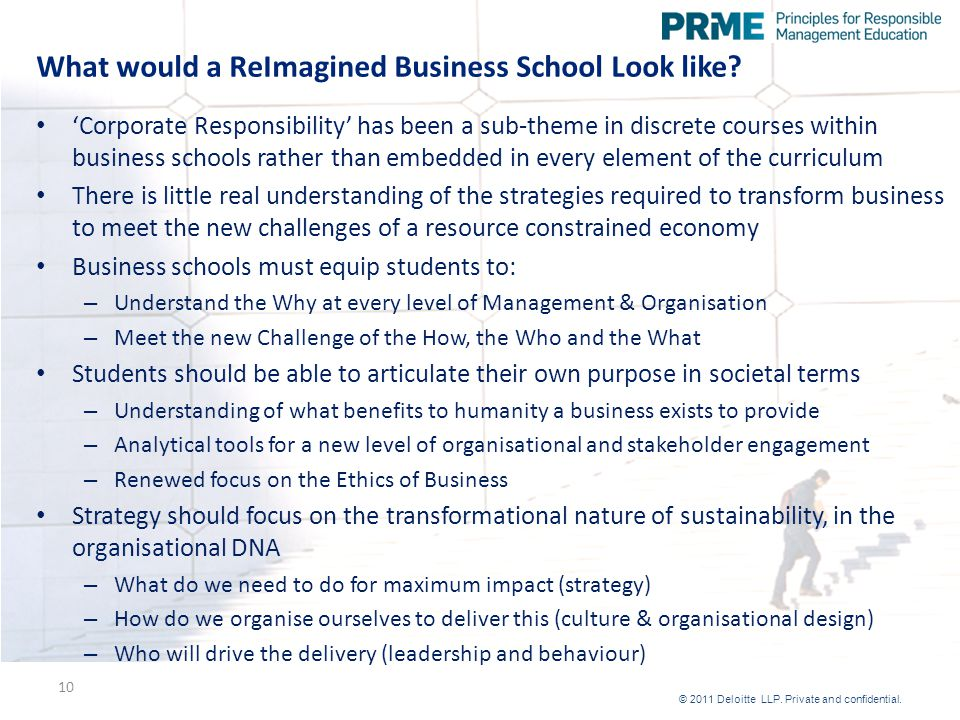 What would a ReImagined Business School Look like.