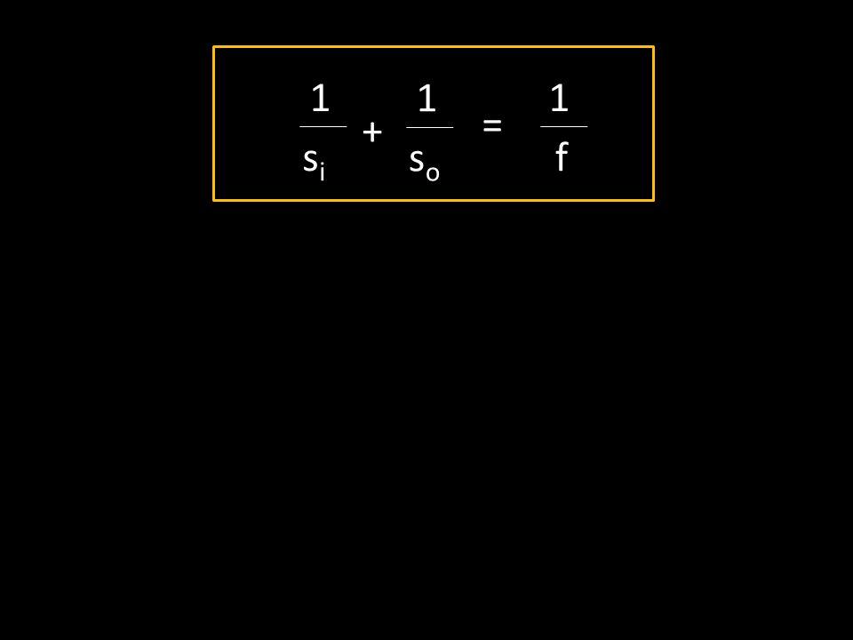1 sisi + 1 soso = 1 f