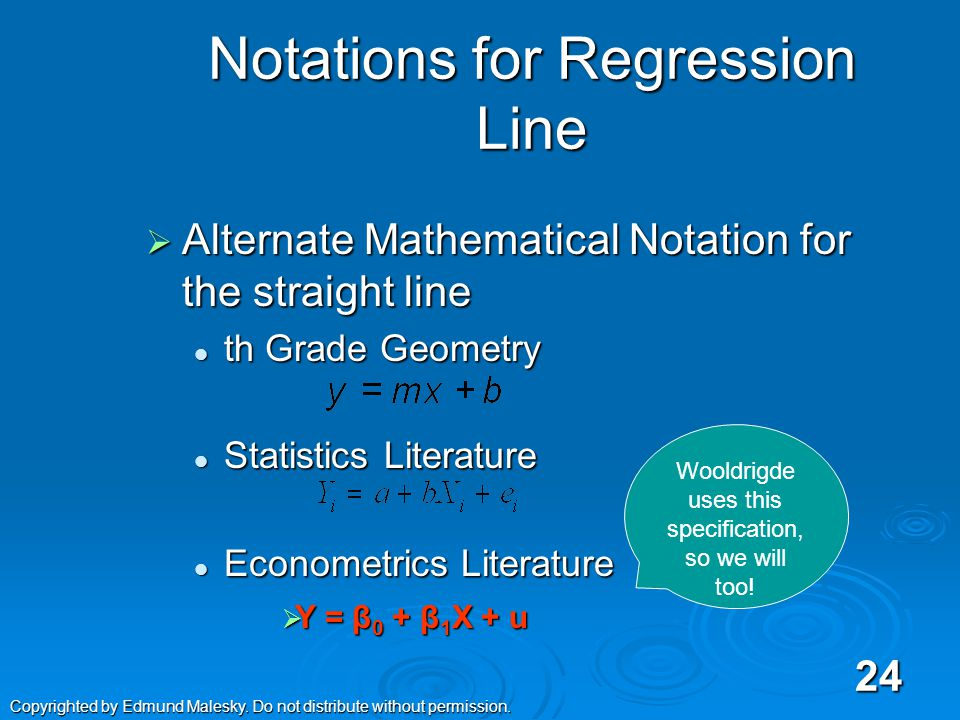  The General Linear Model refers to a class of statistical models which are generalizations of simple linear regression analysis.
