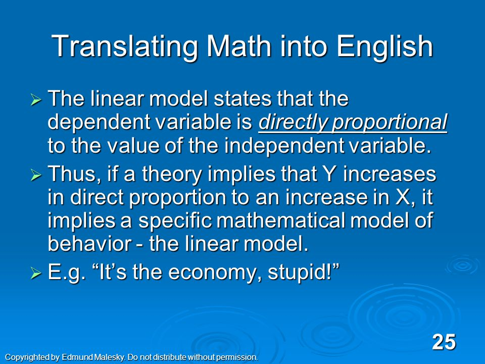 Notations for Regression Line  Alternate Mathematical Notation for the straight line th Grade Geometry th Grade Geometry Statistics Literature Statistics Literature Econometrics Literature Econometrics Literature  Y = β 0 + β 1 X + u Wooldrigde uses this specification, so we will too.