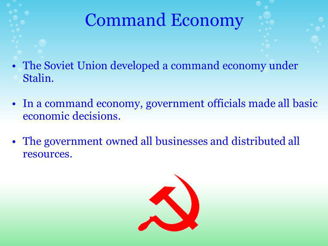 Collectivization in Agriculture Stalin also brought agriculture under governmental control.