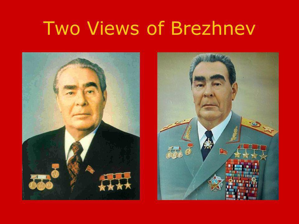 Two Views of Brezhnev