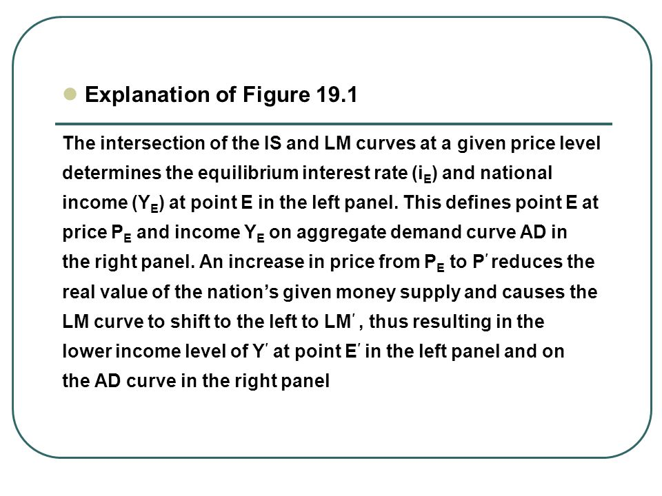 Chapter Summary Open-economy macroeconomics Aggregate Demand and Aggregate Supply Relationship between Prices and Output Model of IS, LM and BP Expansionary fiscal policy under fixed exchange rates or monetary policy under flexible rates Macroeconomic policies can be used to achieve long-run growth