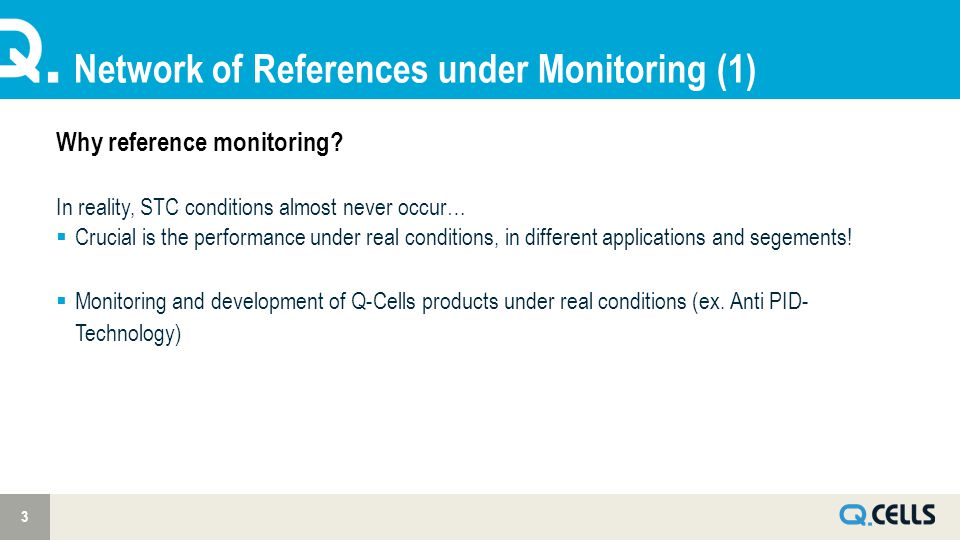 Network of References under Monitoring (1) 3 Why reference monitoring? In reality, STC conditions almost never occur…  Crucial is the performance und