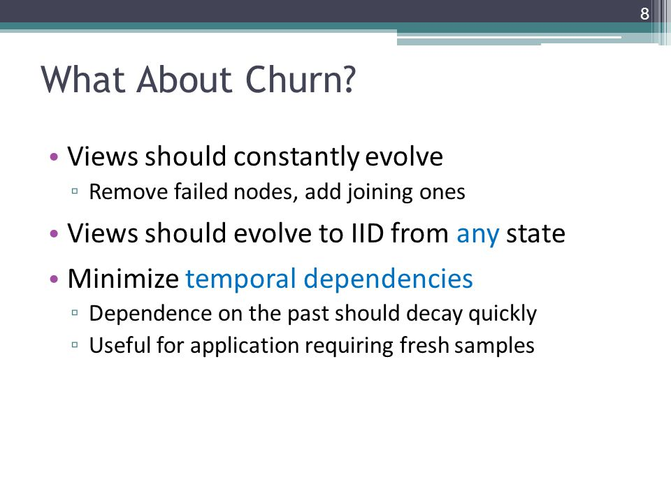 What About Churn.