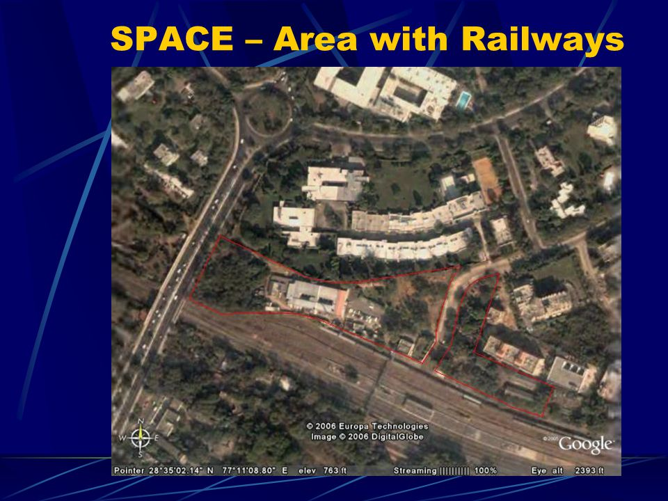 SPACE – Area with Railways
