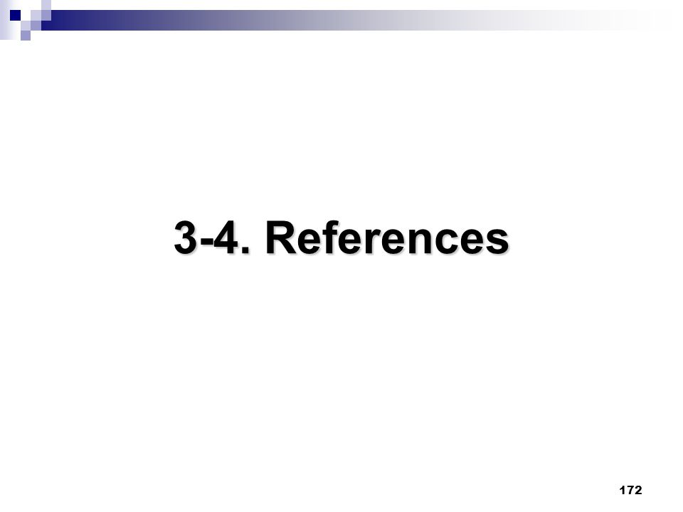 172 3-4. References