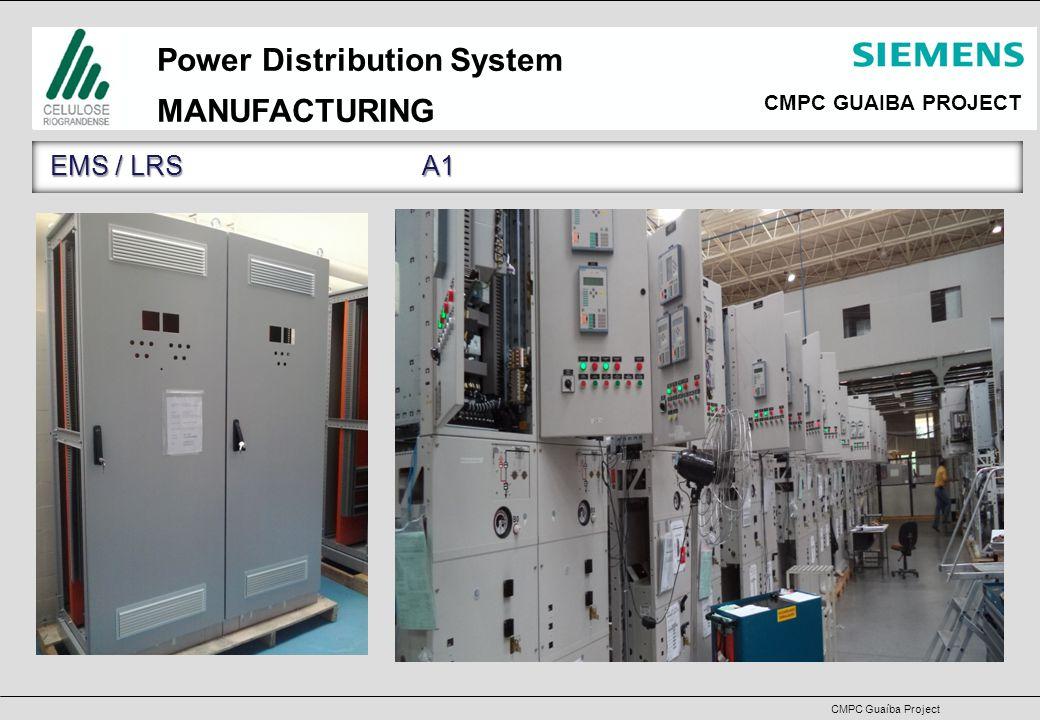 CMPC GUAIBA PROJECT CMPC Guaíba Project Power Distribution System S CURVE– MAR/14