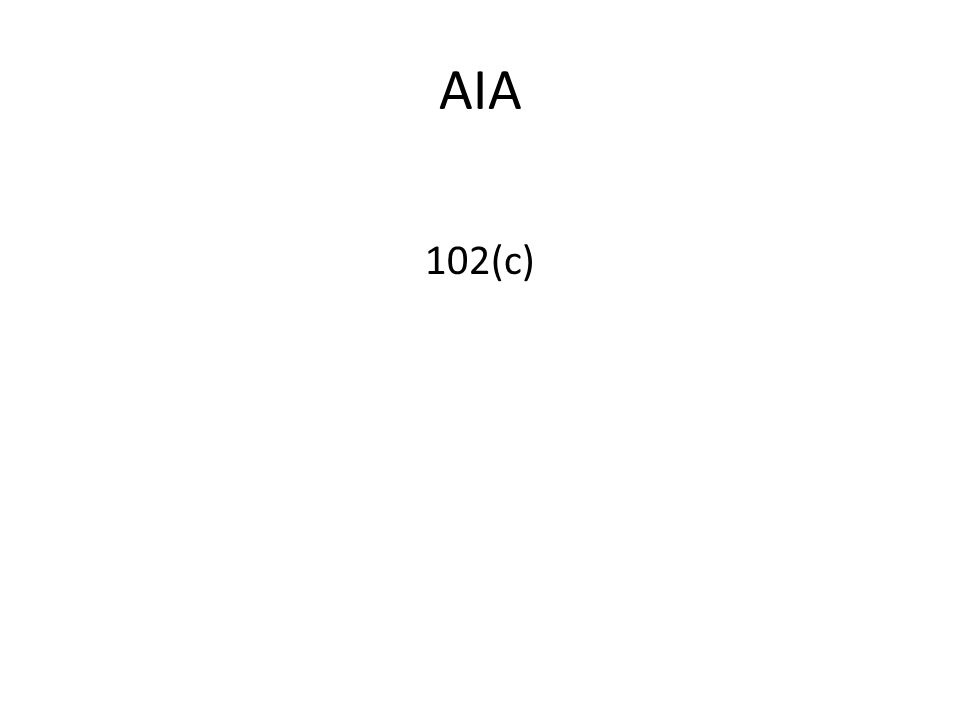 AIA 102(c)