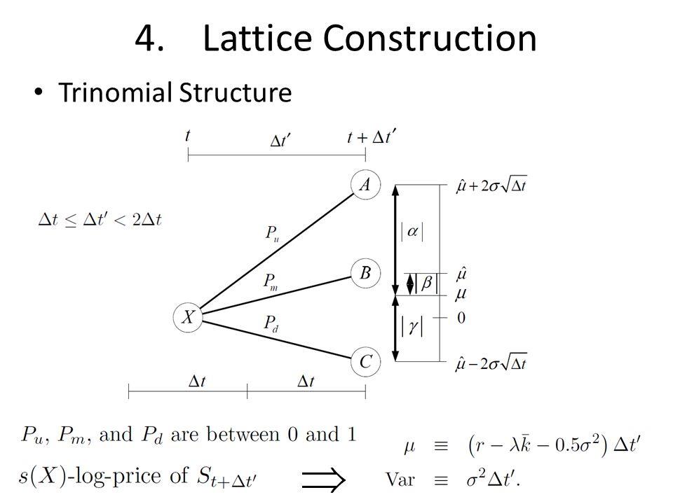 4.Lattice Construction Trinomial Structure