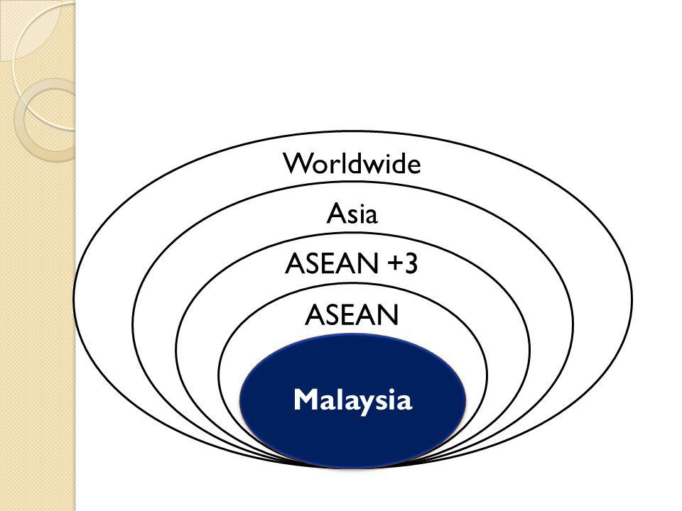 Worldwide Asia ASEAN +3 ASEAN Malaysia