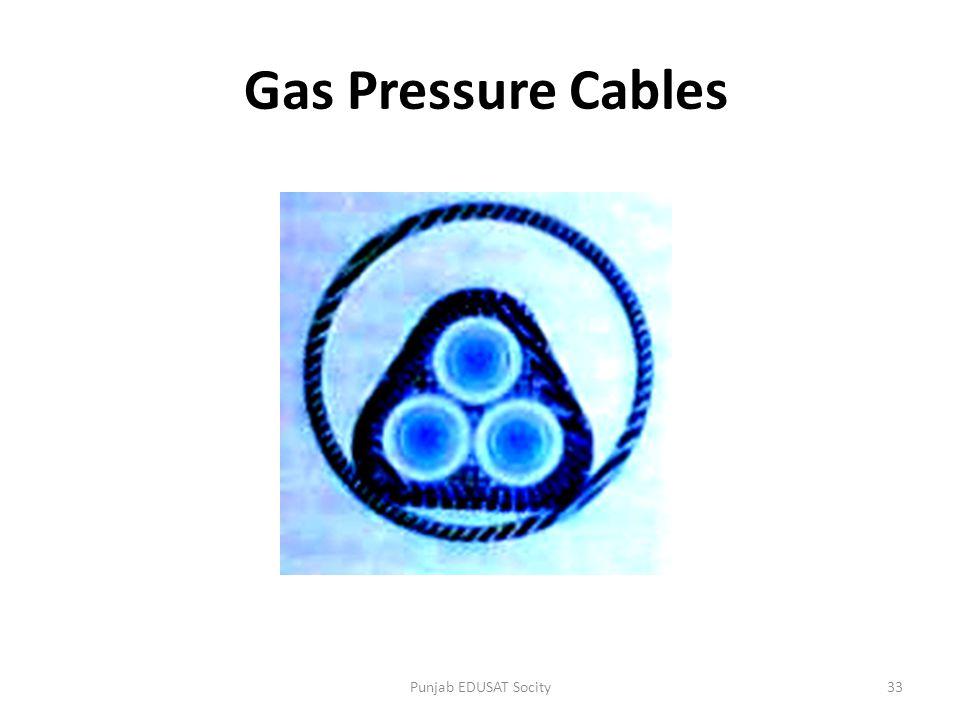 Gas Pressure Cables 33Punjab EDUSAT Socity