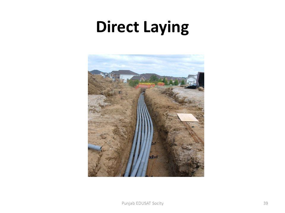 Direct Laying 39Punjab EDUSAT Socity