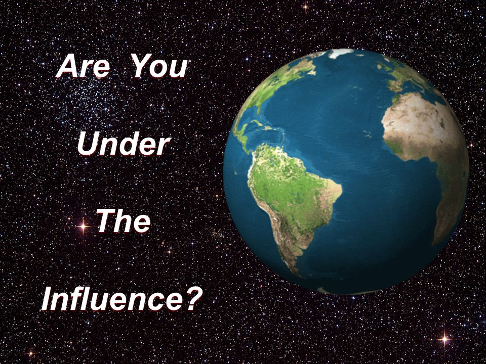 Are You UnderTheInfluence?