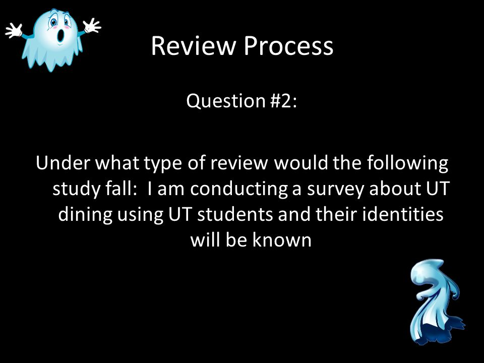 PI Response Form & Routing Process Question #2: Does my faculty advisor have to sign off on my submission?
