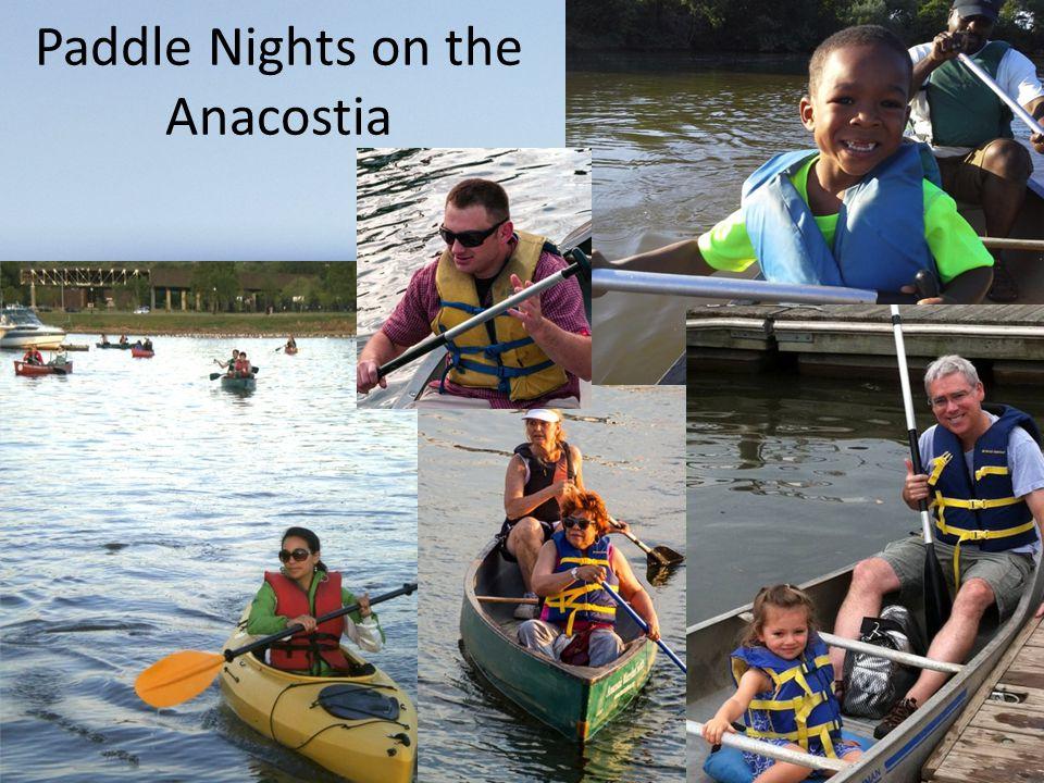 Paddle Nights on the Anacostia