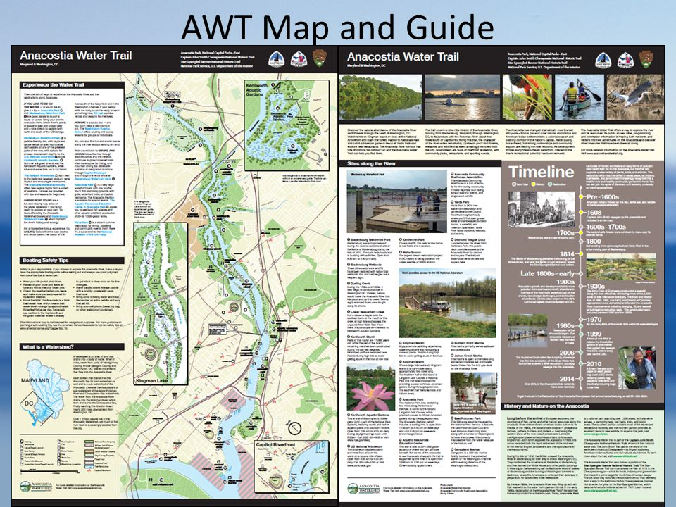 AWT Map and Guide