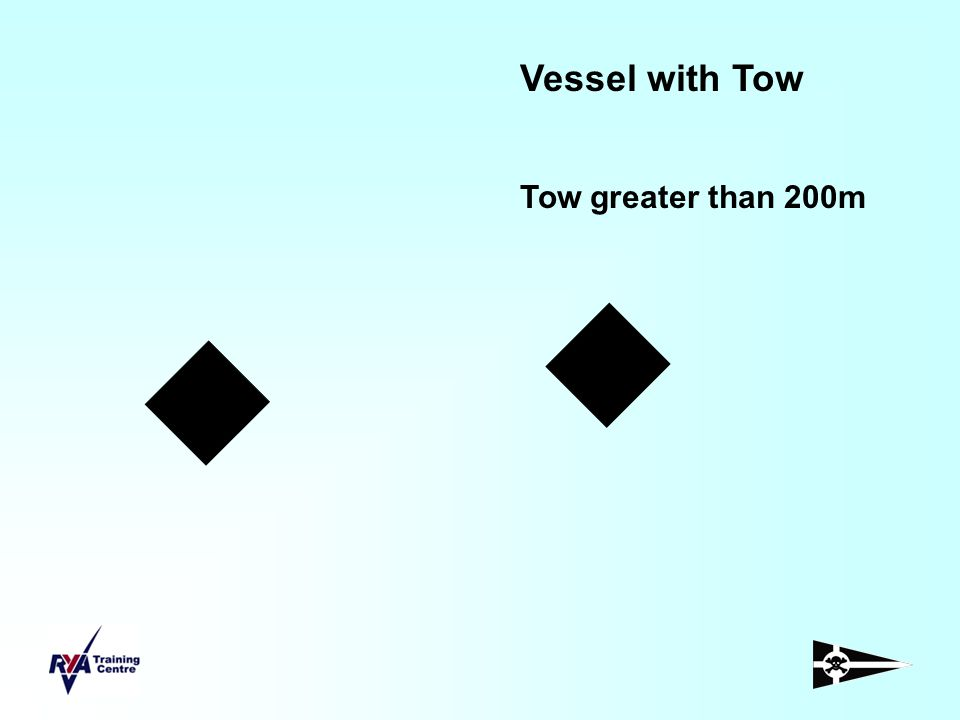 Vessel with Tow Tow greater than 200m