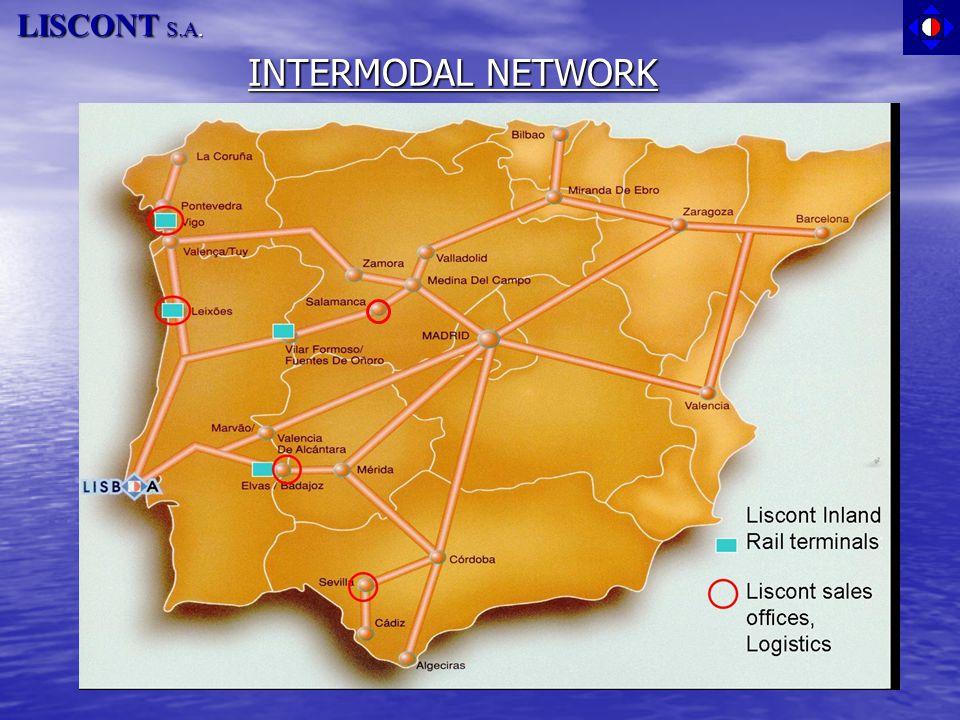 LISCONT S.A. INTERMODAL NETWORK